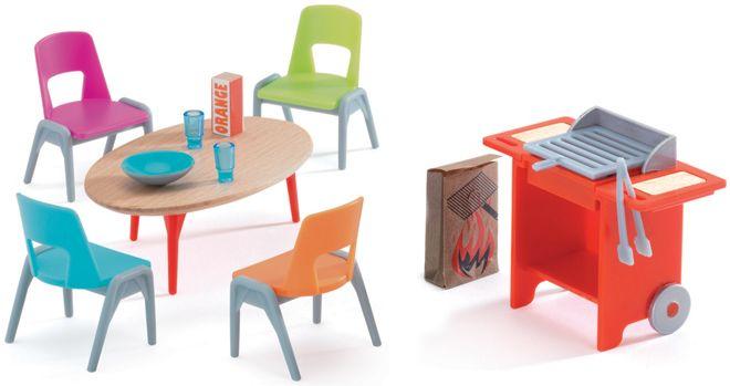 c8222e06efa store.bg - Градински мебели с барбекю - Детски аксесоари за къща за кукли -  🐻 играчка