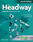 New Headway - Advanced (C1): Учебна тетрадка по английски език + iChecker CD-ROM : Fourth Edition - John Soars, Liz Soars, Paul Hancock -
