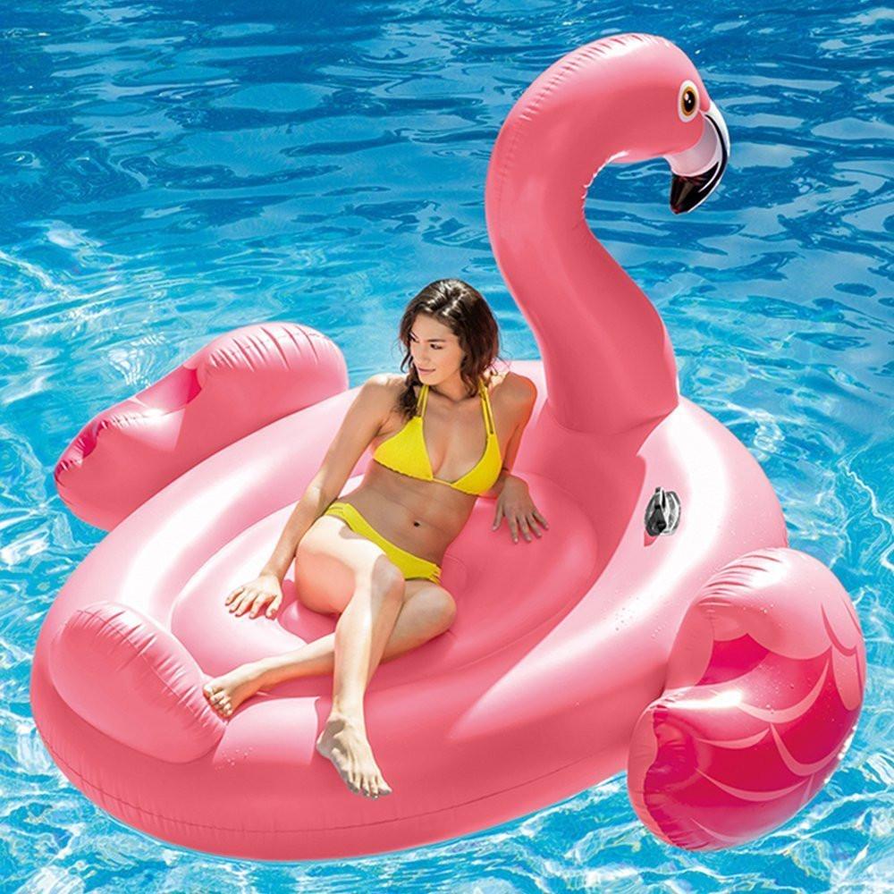 fb6bc9453ad ... Фламинго с размери 218 / 211 / 136 cm ...