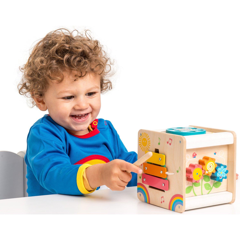 c728861dbab store.bg - Активен куб - Детска дървена образователна играчка ...