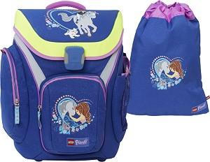 49a40171627 Ученическа раница - Friends: Horse - Комплект със спортен сак с връзки от  серията