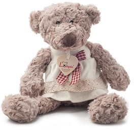89aa0091fb3 store.bg - Мече с рокля - Плюшена играчка - 🐻 играчка
