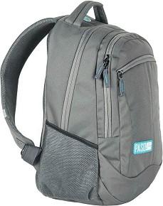 4d9ef6a1c8f Ученическа раница - Сиво - Комплект с портмоне и несесер за химикалки -