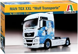 "Камион влекач - MAN TGX XXL ""Wolf Transport"" - Сглобяем модел -"