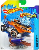 "Dragon Blaster - Количка от серията ""Hot Wheels: Colour Shifters""  -"